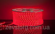 Светодиодный дюралайт  SMD3528 квадратный красный