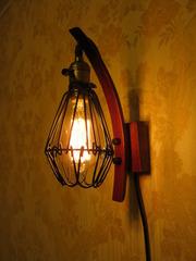 Оригинальный,  креативный светильник в стиле LOFT.