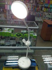 Компактная светодиодная лампа Remax RT-E601 с мини-вентилятором USB LE